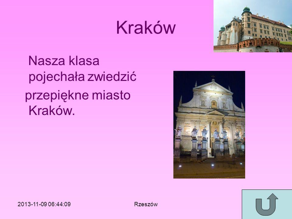Kraków Nasza klasa pojechała zwiedzić przepiękne miasto Kraków.