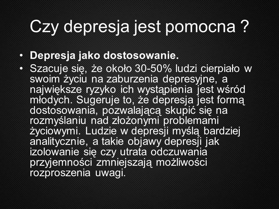 Czy depresja jest pomocna