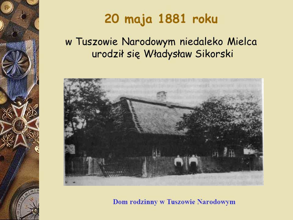 20 maja 1881 roku w Tuszowie Narodowym niedaleko Mielca