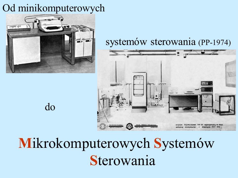 Mikrokomputerowych Systemów Sterowania