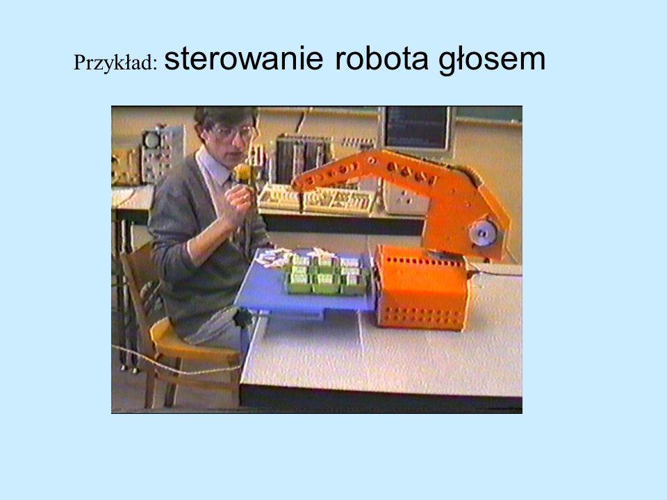 Przykład: sterowanie robota głosem