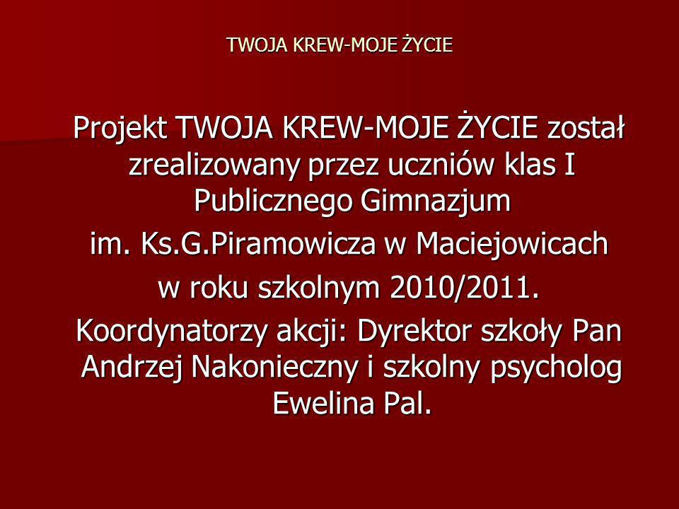 im. Ks.G.Piramowicza w Maciejowicach