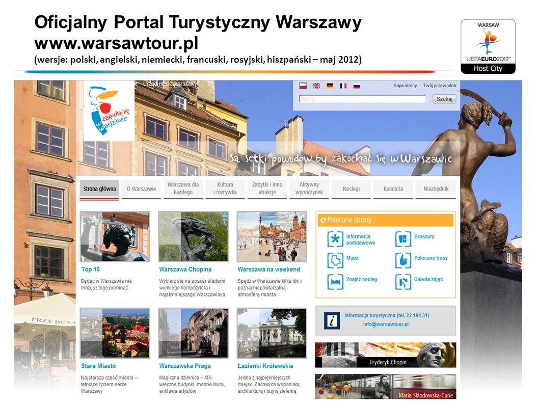 Oficjalny Portal Turystyczny Warszawy www.warsawtour.pl
