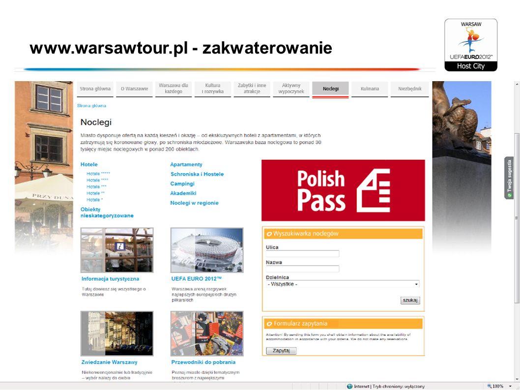 www.warsawtour.pl - zakwaterowanie