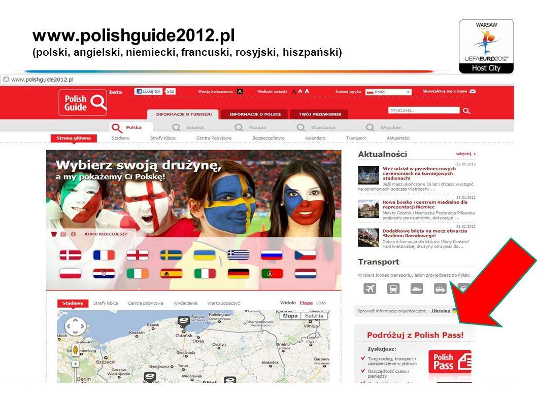 www.polishguide2012.pl (polski, angielski, niemiecki, francuski, rosyjski, hiszpański)