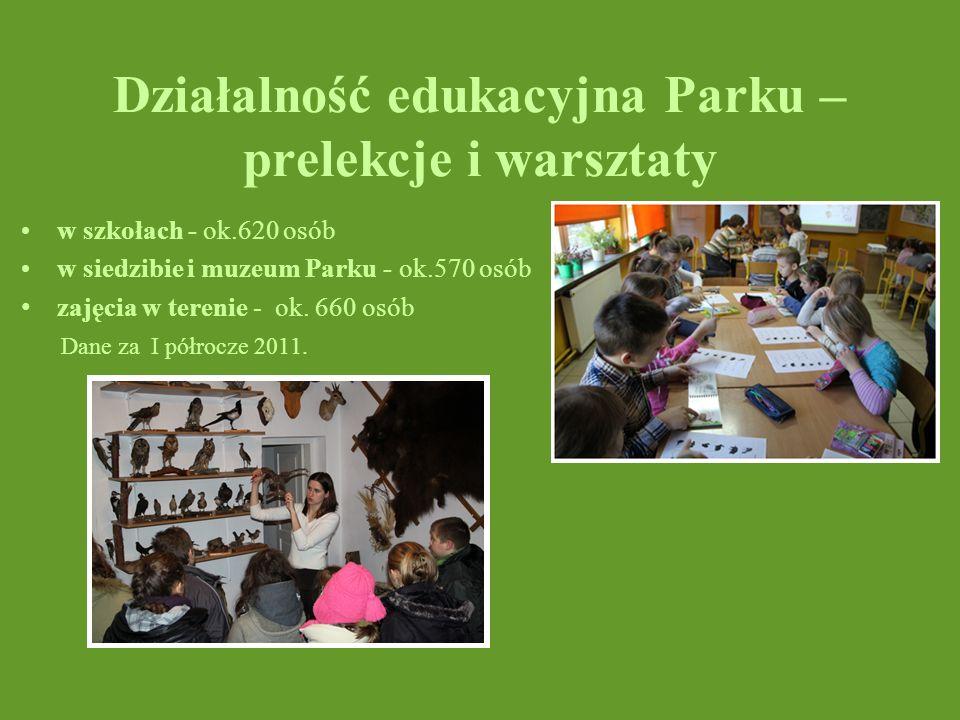 Działalność edukacyjna Parku – prelekcje i warsztaty