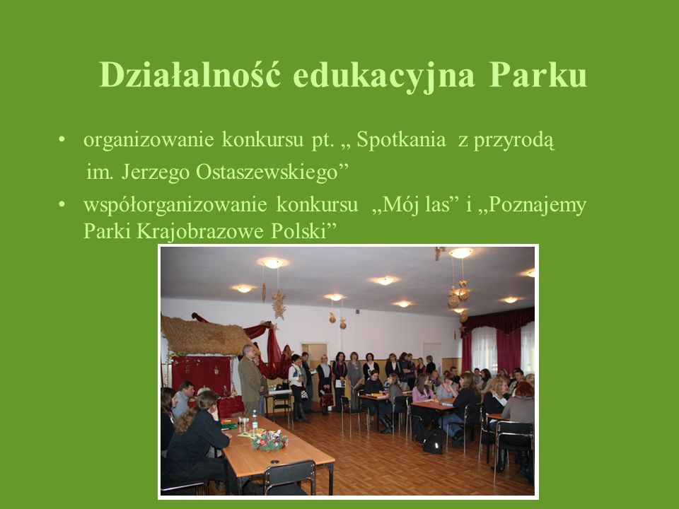 Działalność edukacyjna Parku