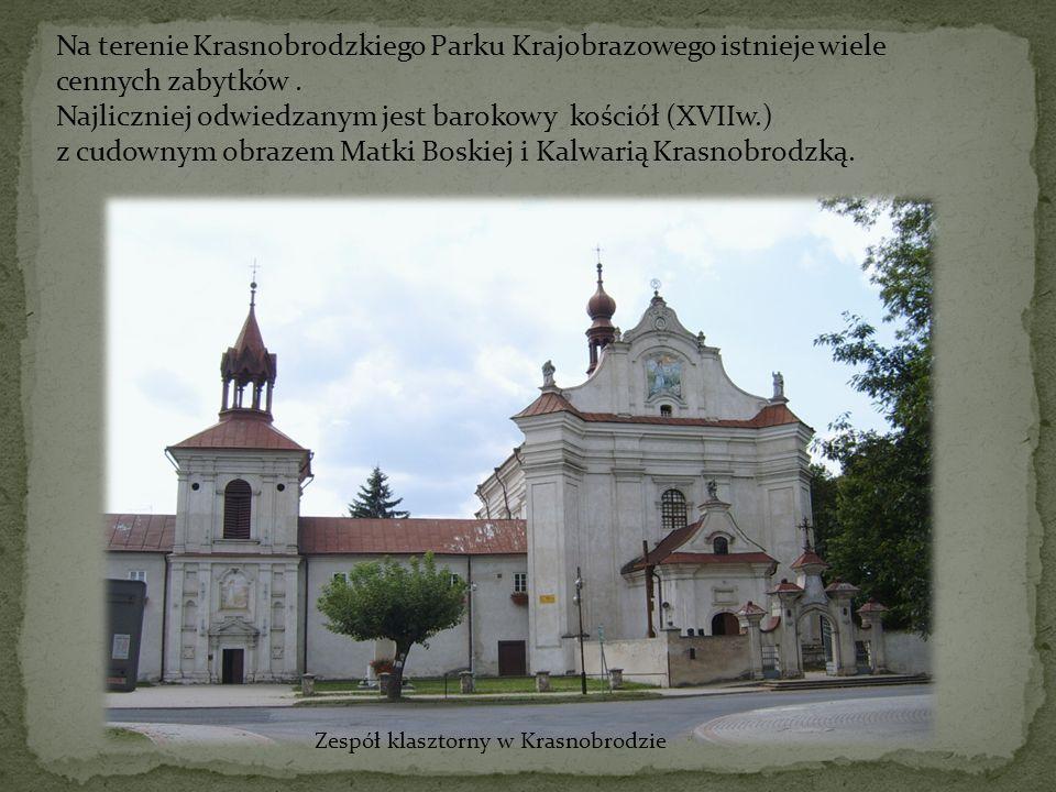 Najliczniej odwiedzanym jest barokowy kościół (XVIIw.)