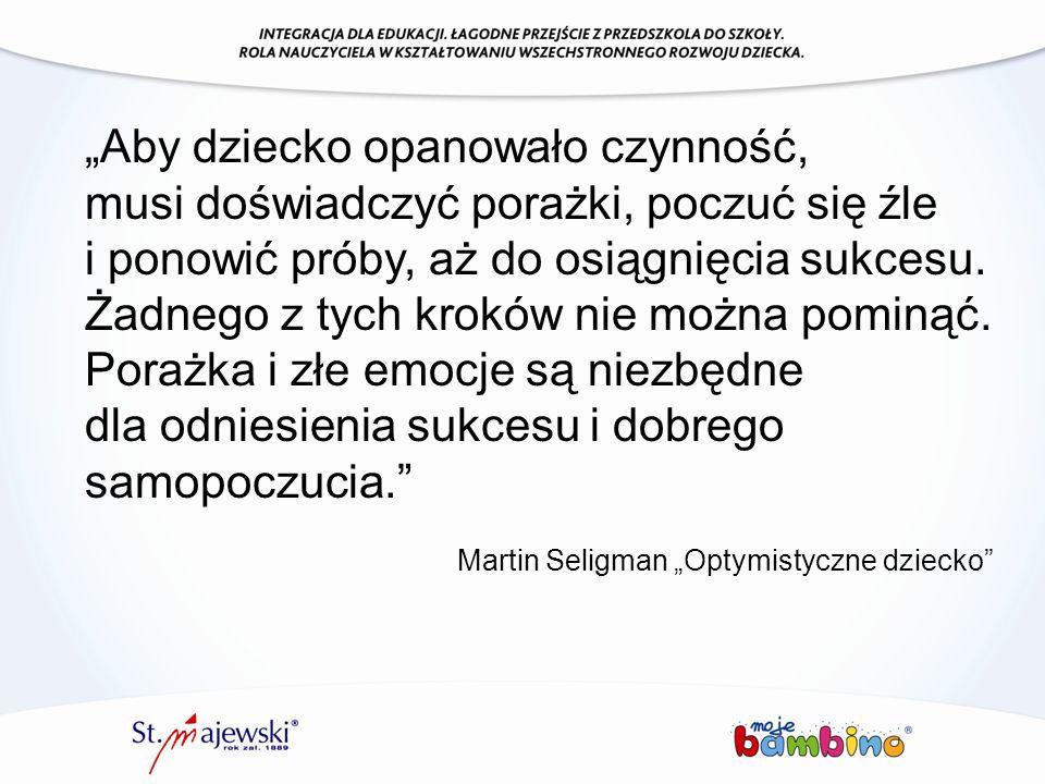 """Martin Seligman """"Optymistyczne dziecko"""