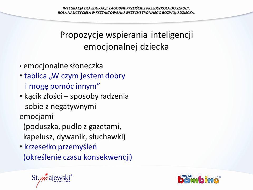 Propozycje wspierania inteligencji