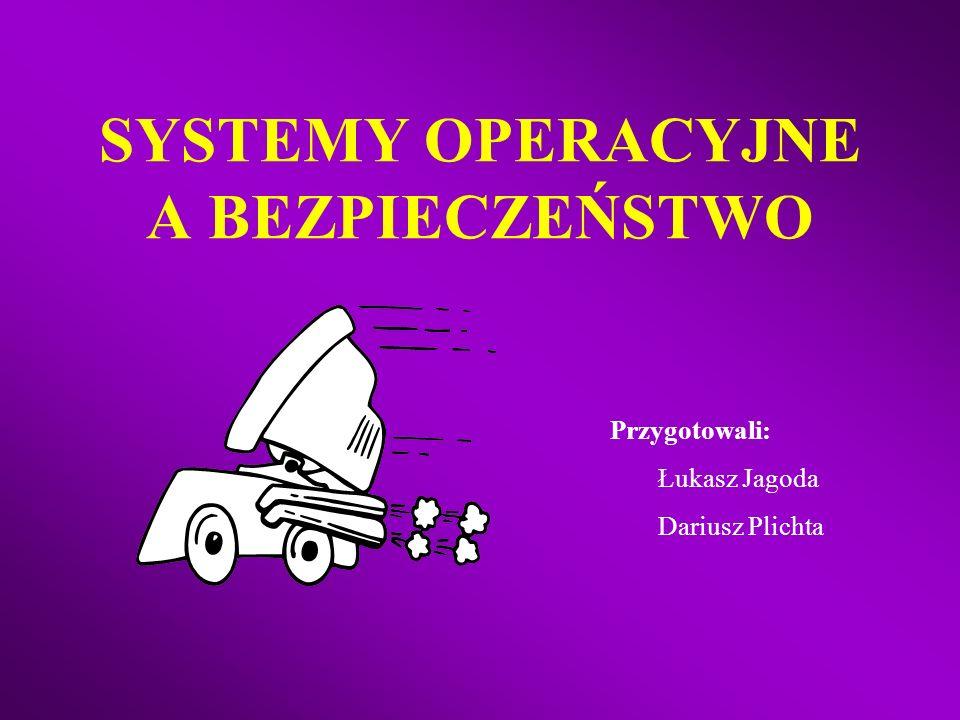 SYSTEMY OPERACYJNE A BEZPIECZEŃSTWO