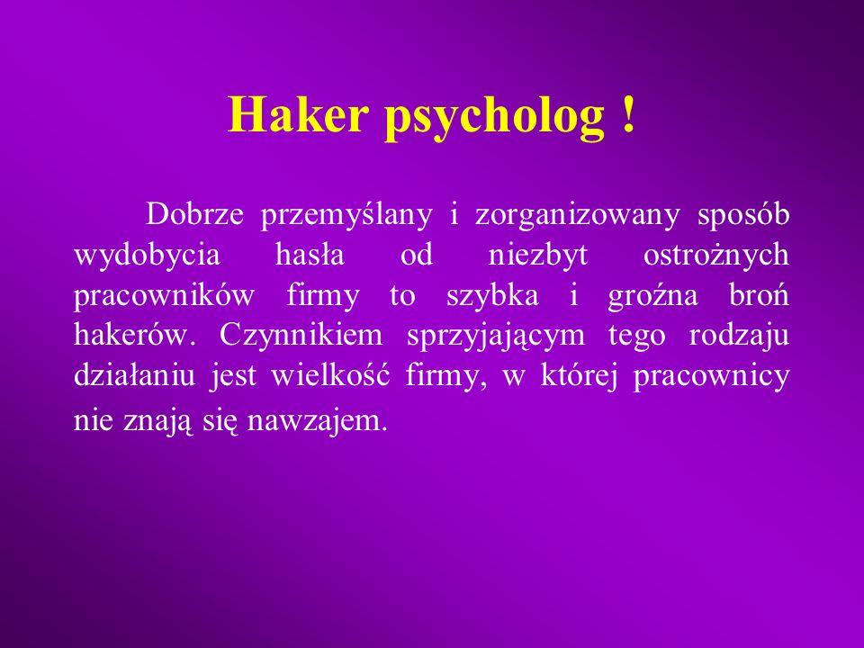Haker psycholog !