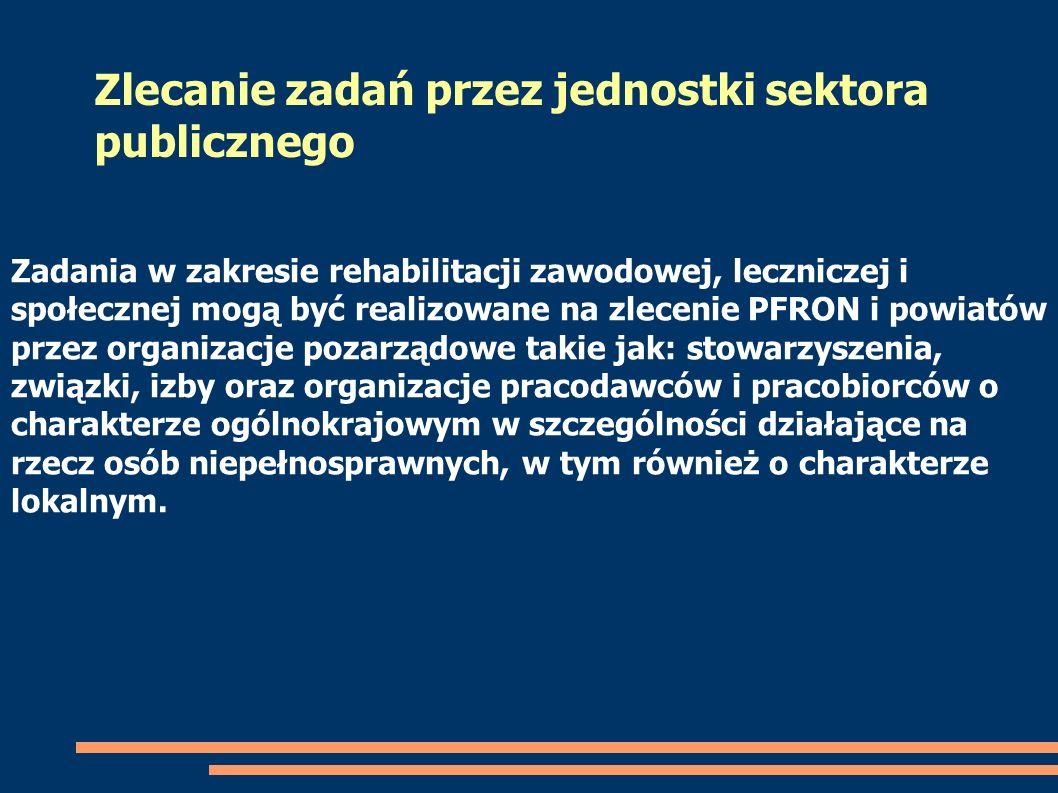 Zlecanie zadań przez jednostki sektora publicznego