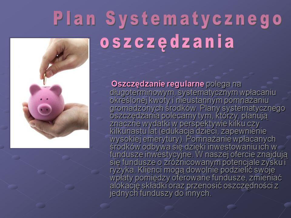 Plan Systematycznego oszczędzania