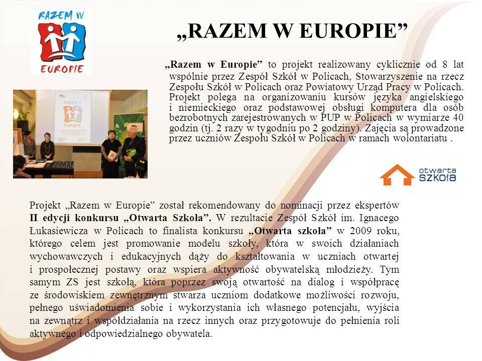 """""""RAZEM W EUROPIE"""