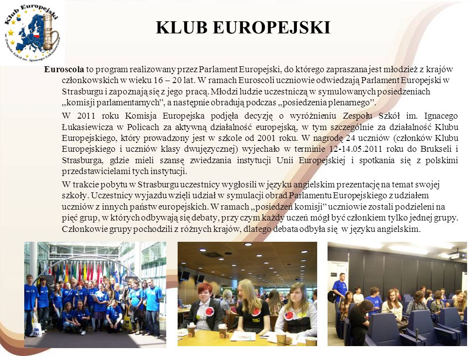 KLUB EUROPEJSKI