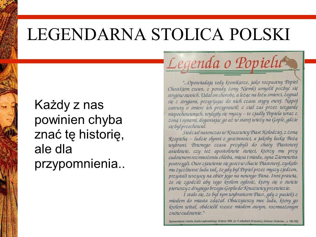 LEGENDARNA STOLICA POLSKI