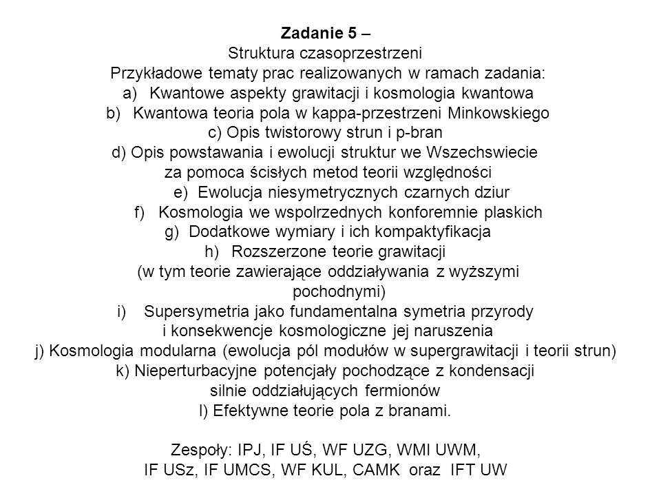 Struktura czasoprzestrzeni