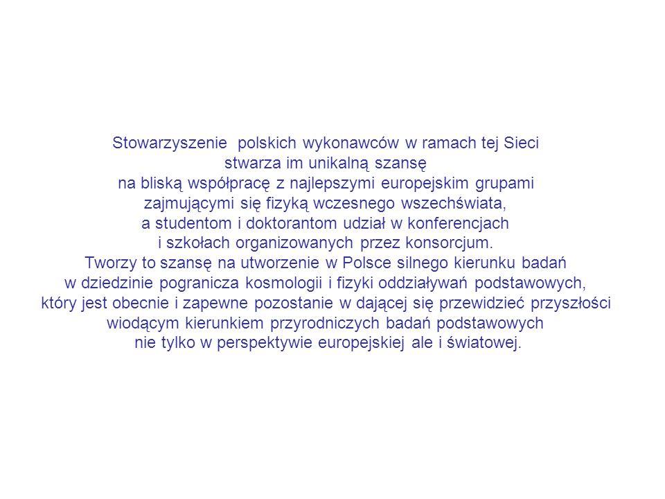 Stowarzyszenie polskich wykonawców w ramach tej Sieci