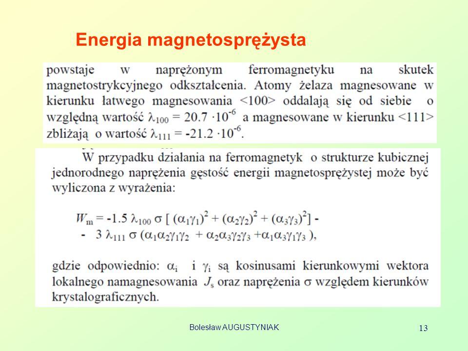 Energia magnetosprężysta