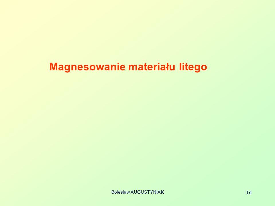 Magnesowanie materiału litego