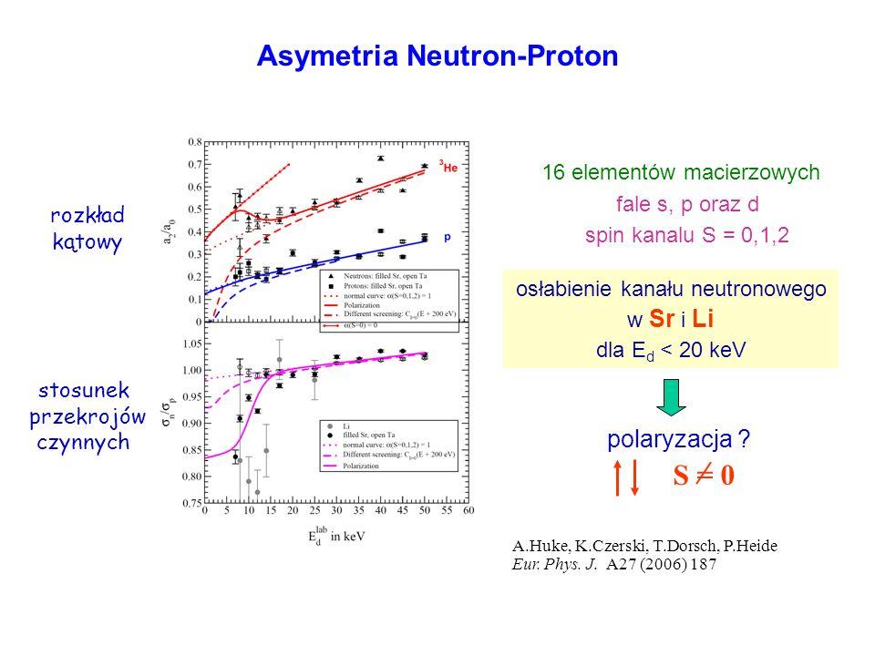 Asymetria Neutron-Proton