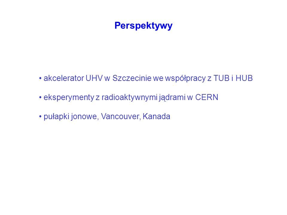 Perspektywy akcelerator UHV w Szczecinie we współpracy z TUB i HUB