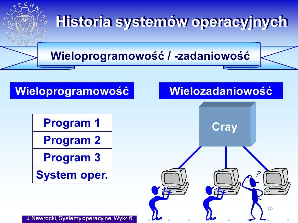 Historia systemów operacyjnych