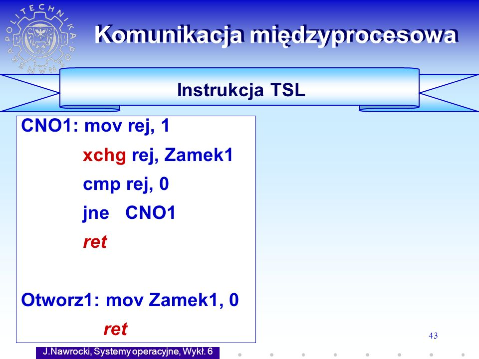 Komunikacja międzyprocesowa