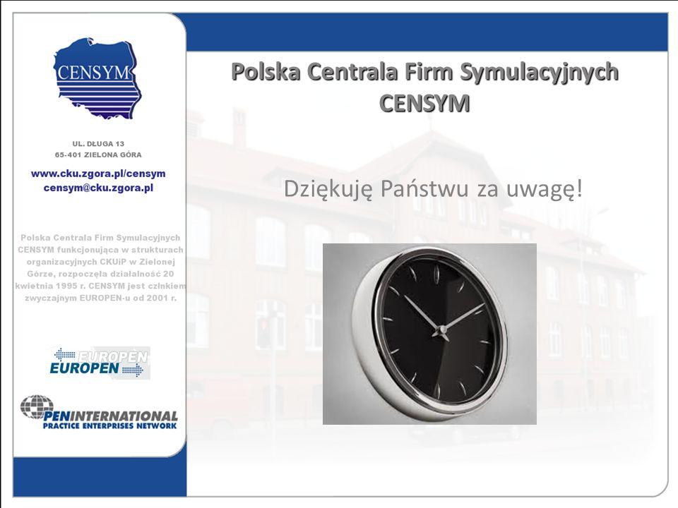 Polska Centrala Firm Symulacyjnych CENSYM
