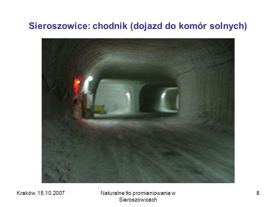 Sieroszowice: chodnik (dojazd do komór solnych)