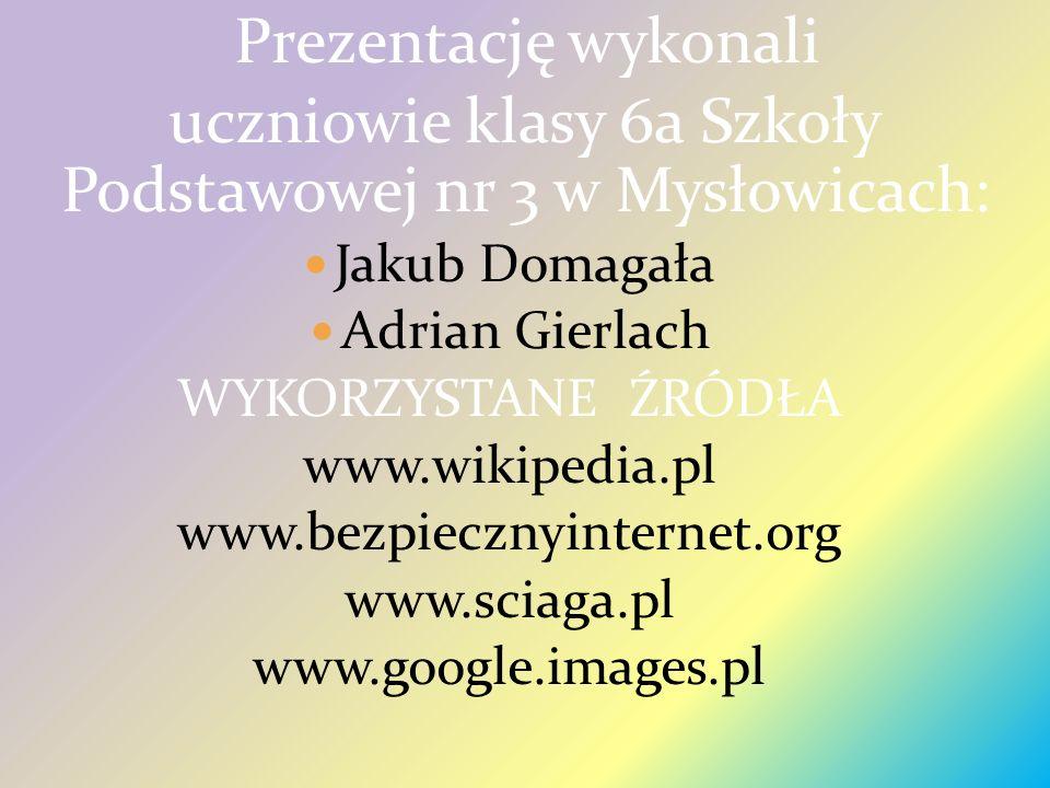 uczniowie klasy 6a Szkoły Podstawowej nr 3 w Mysłowicach: