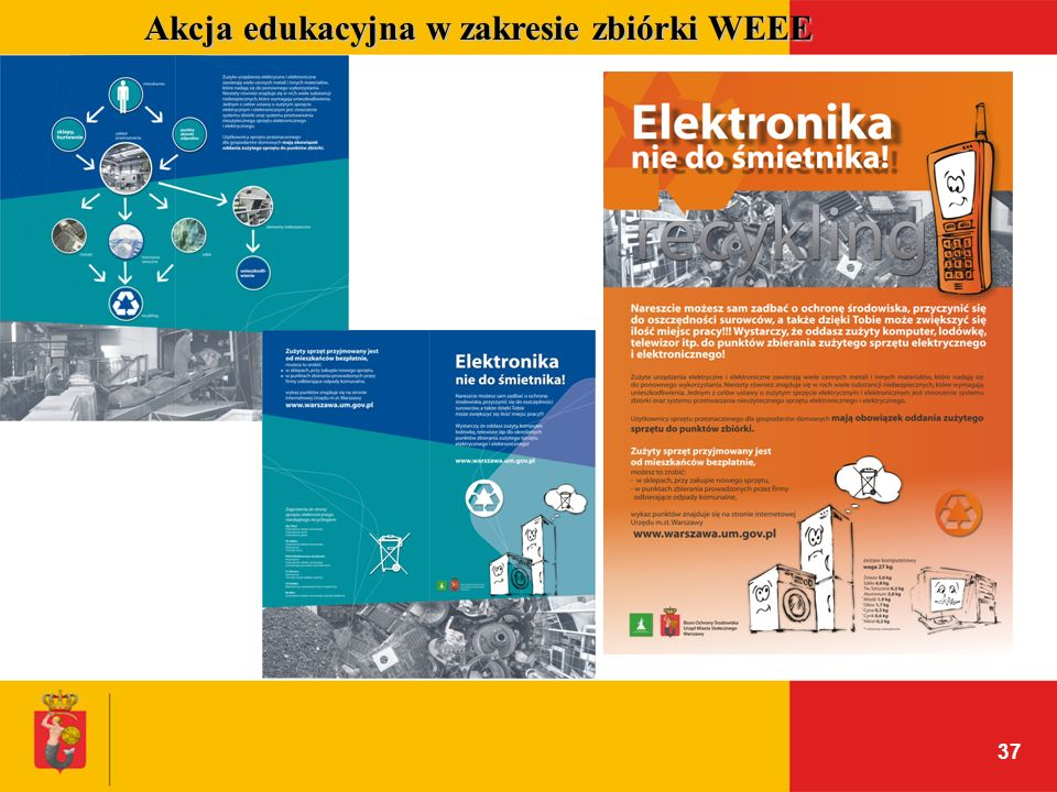 Akcja edukacyjna w zakresie zbiórki WEEE