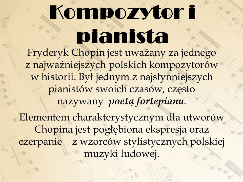 Kompozytor i pianista