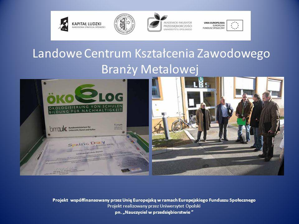 Landowe Centrum Kształcenia Zawodowego Branży Metalowej