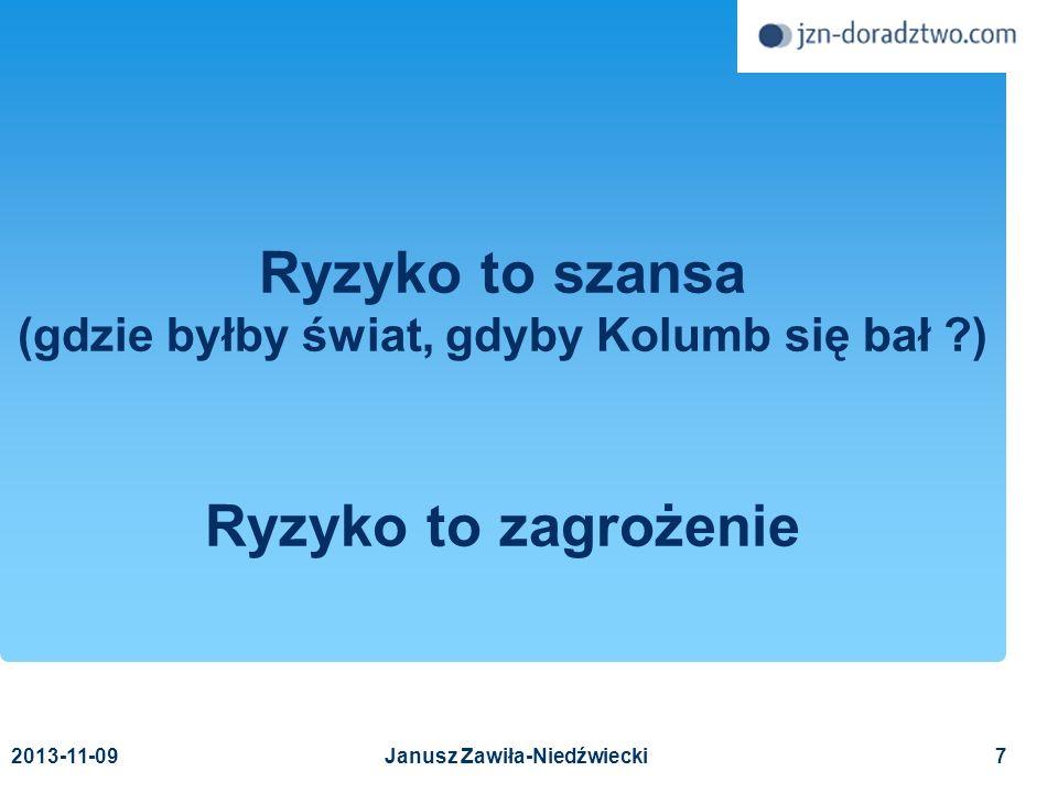 (gdzie byłby świat, gdyby Kolumb się bał ) Janusz Zawiła-Niedźwiecki