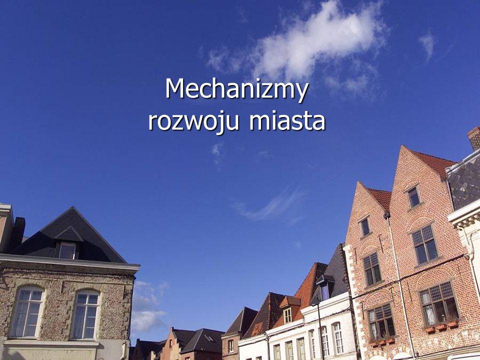 Mechanizmy rozwoju miasta