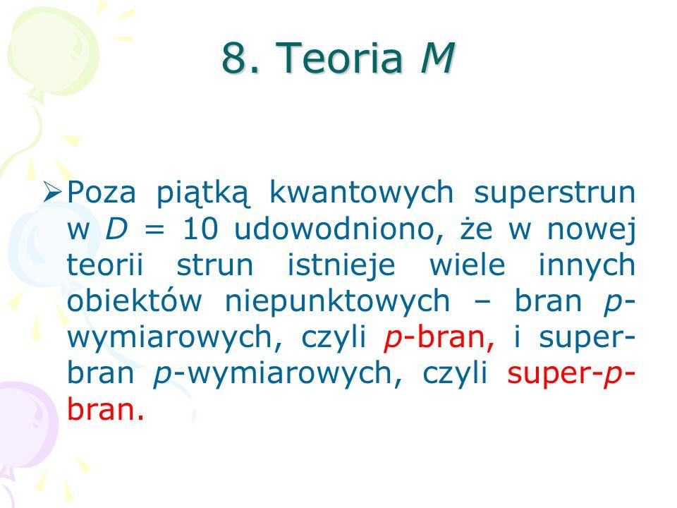 8. Teoria M