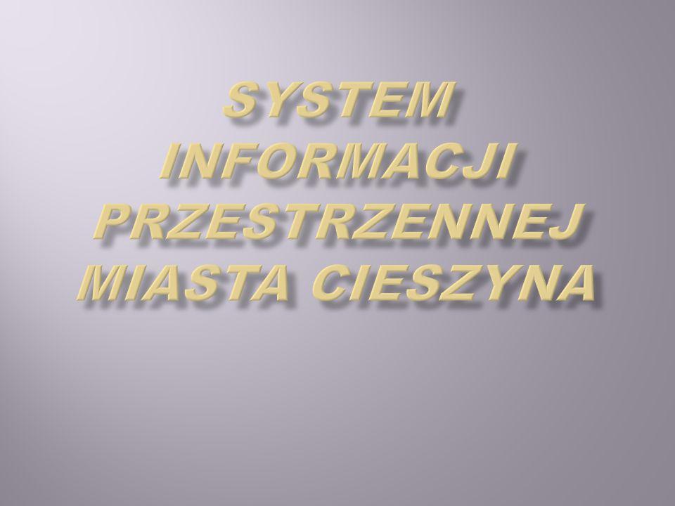 System informacji przestrzennej miasta Cieszyna