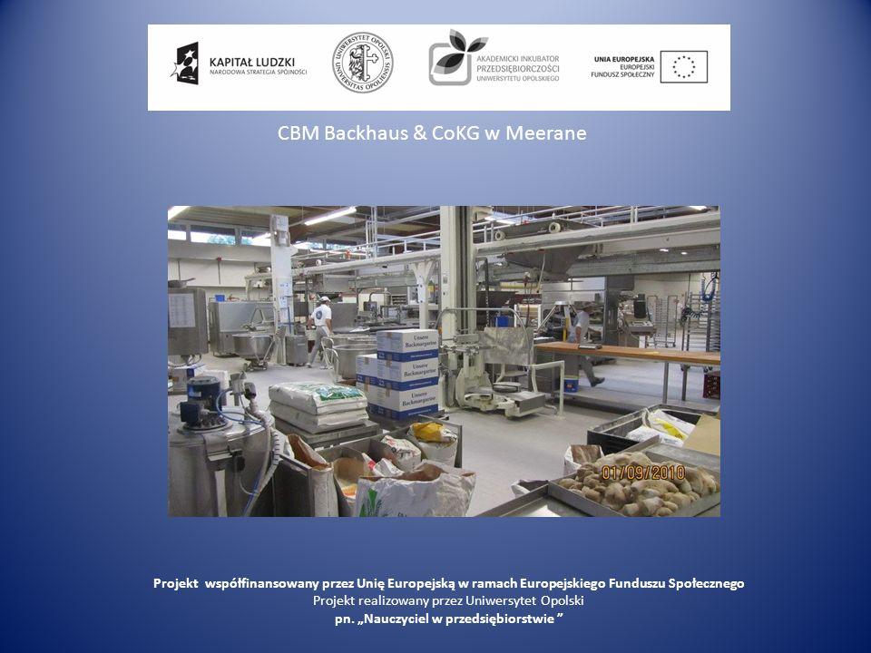 CBM Backhaus & CoKG w Meerane
