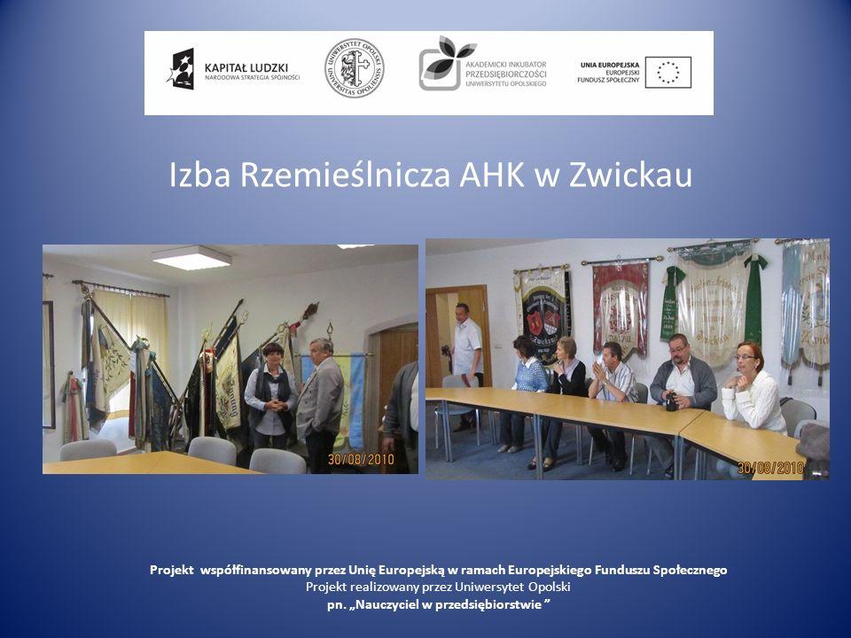 Izba Rzemieślnicza AHK w Zwickau