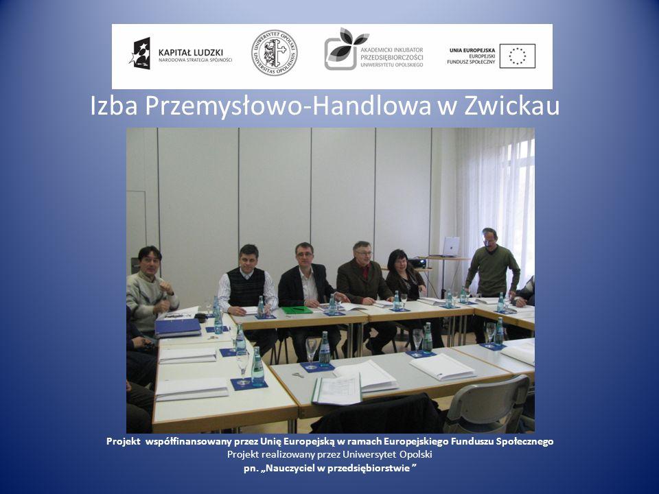 Izba Przemysłowo-Handlowa w Zwickau
