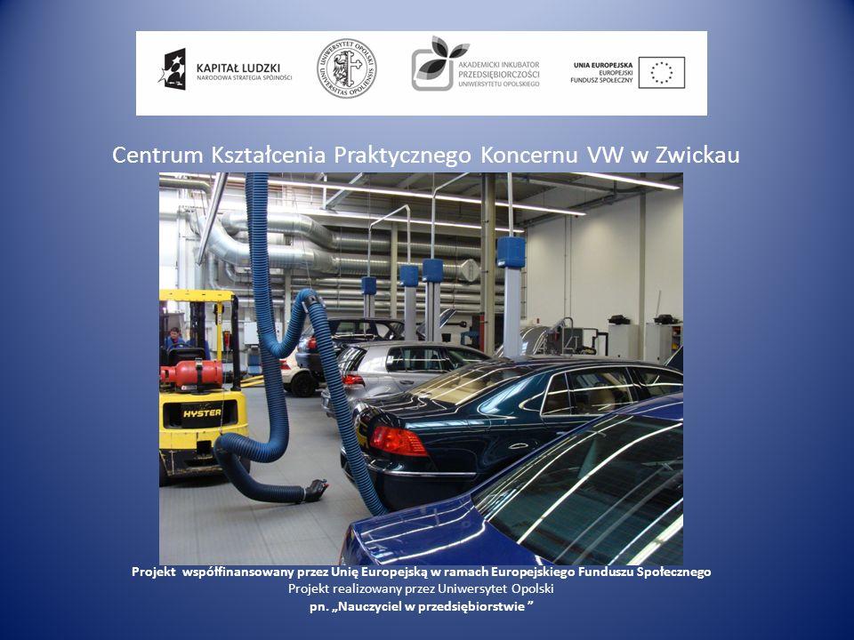 Centrum Kształcenia Praktycznego Koncernu VW w Zwickau