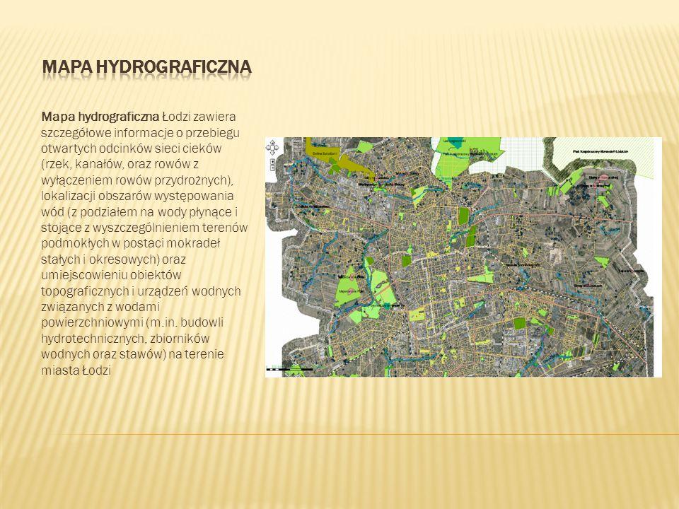 Mapa hydrograficzna