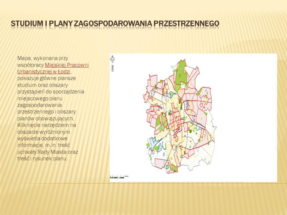 Studium i plany zagospodarowania przestrzennego