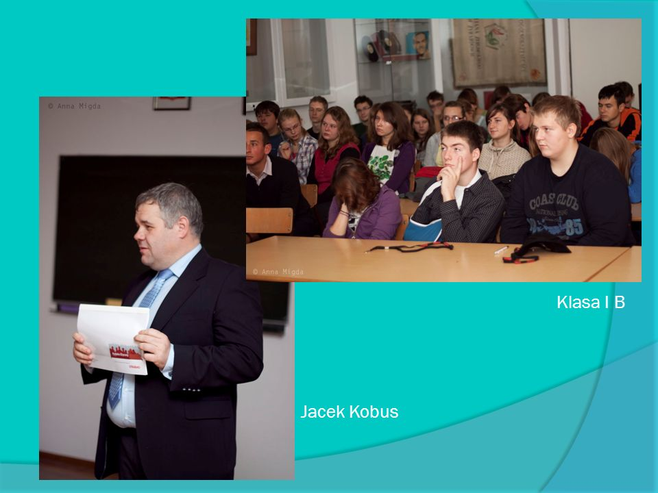 Klasa I B Jacek Kobus