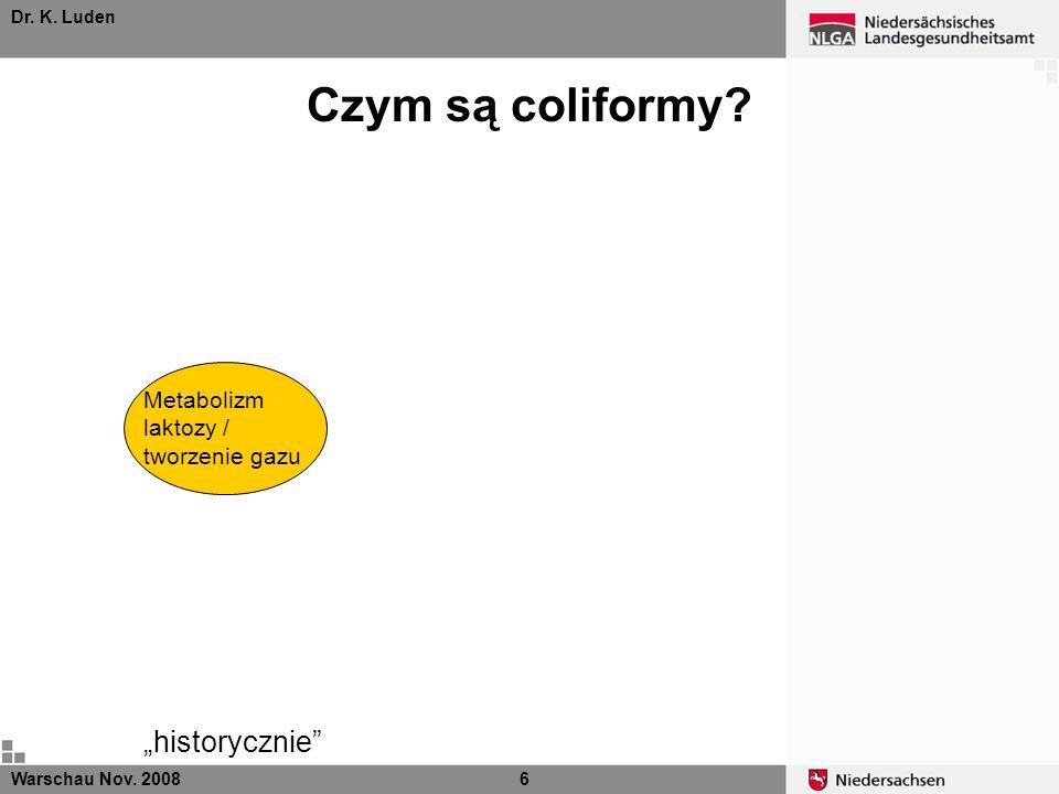 """Czym są coliformy Metabolizm laktozy / tworzenie gazu """"historycznie"""