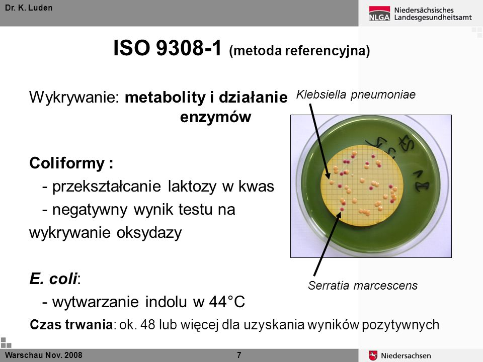 ISO 9308-1 (metoda referencyjna)