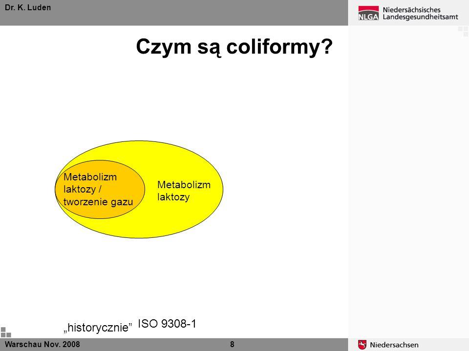 Czym są coliformy ISO 9308-1 Metabolizm laktozy / tworzenie gazu