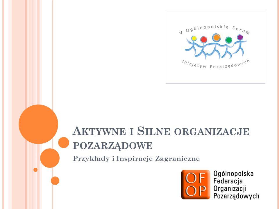 Aktywne i Silne organizacje pozarządowe